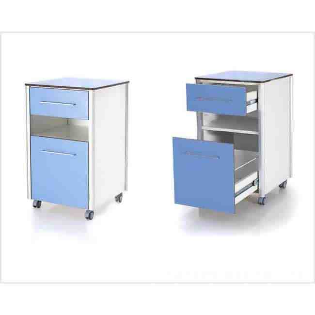 Bed Side Cabinet With Table Top Manufacturer for Hospital from china