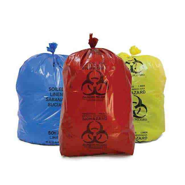 Biohazard Garbage Bags Supplier _ Manufacturer