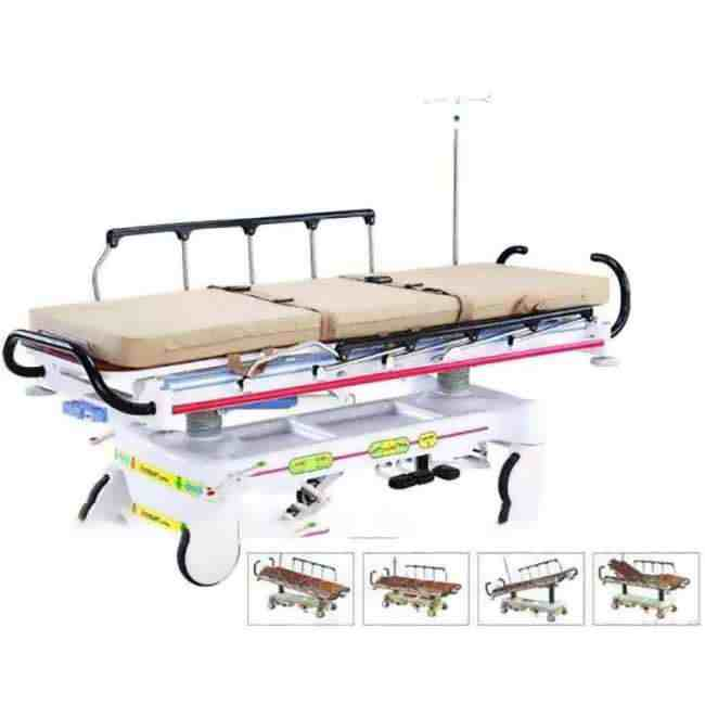 Comfy Hydraulic Stretcher Trolley Functions