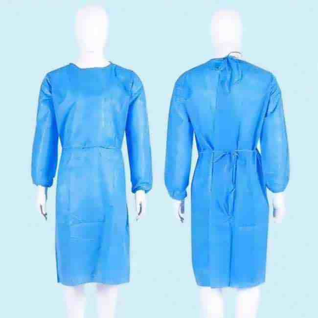 Spunbonded Polypropylene Isolation Gown Supplier _ Manufacturer from china