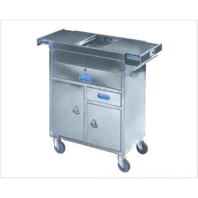 Emergency Trolley S S supplier for Hospital use