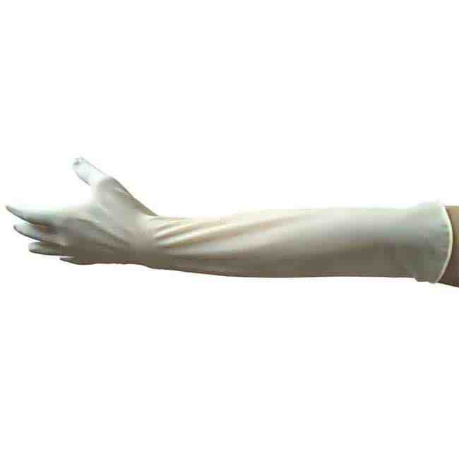 Latex Gynaecological Long Cuff Gloves Manufacturer for Hospital from china