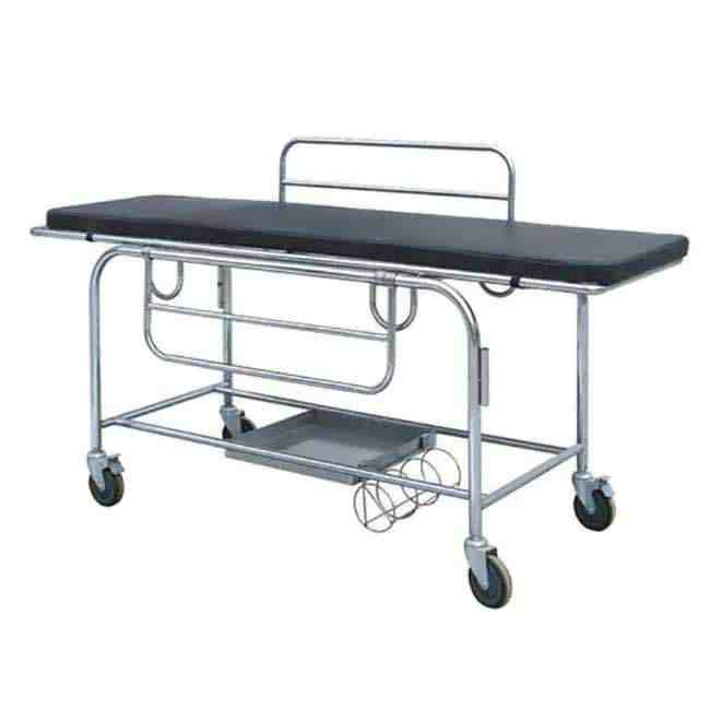 Stretcher Trolly Supplier _ Manufacturer Stainless Steel