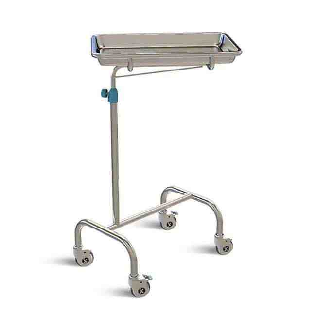 Mayo Type Trolley Height Adjustable Furniture for hospital use