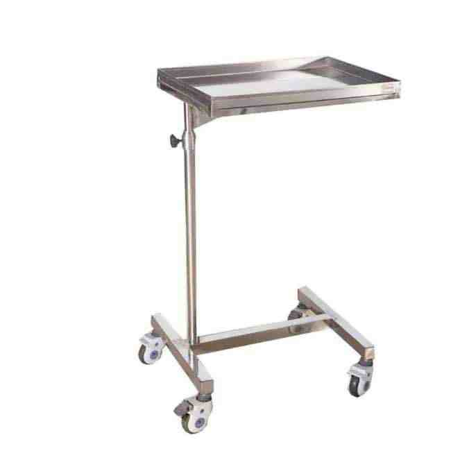 Mayo Type Trolley Height Adjustable Medical Equipment for hospital