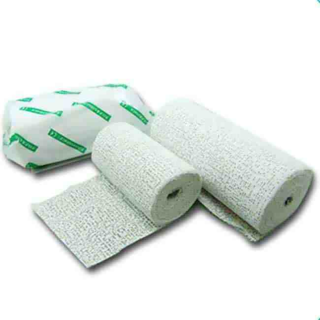 Plaster of Paris Bandage B P supplier for Hospital use