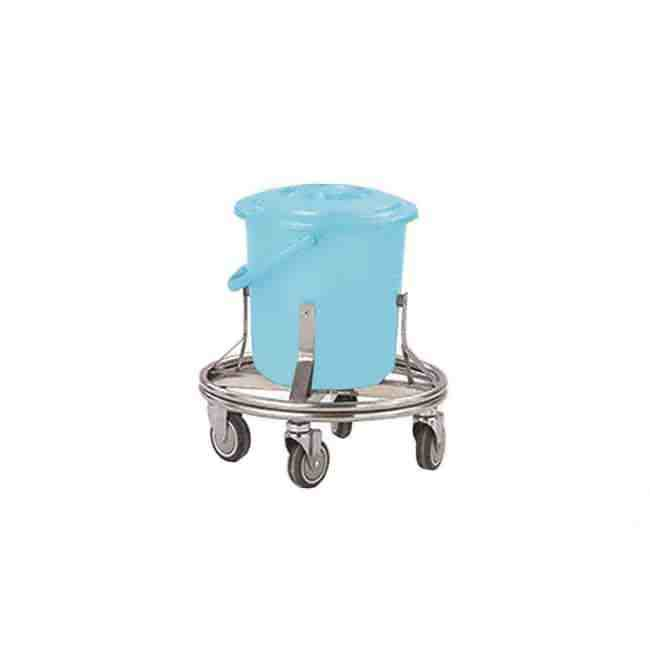 Trolley For Contaminant Tub S S Supplier _ Manufacturer